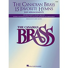 Canadian Brass The Canadian Brass - 15 Favorite Hymns (Tuba (B.C.)) Brass Ensemble Series Arranged by Larry Moore