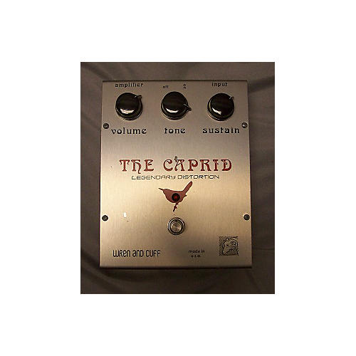 In Store Used The Caprid Legendary Distortion Effect Pedal
