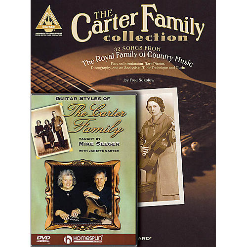 Homespun The Carter Family Bundle Pack Homespun Tapes Series Softcover with DVD Performed by Carter Family