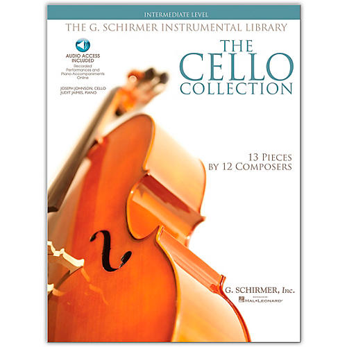 G. Schirmer The Cello Collection - Intermediate Cello / Piano G. Schirmer Instrumental Library Book/Online Audio