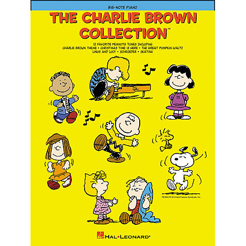 Hal Leonard The Charlie Brown Collection for Big Note Piano