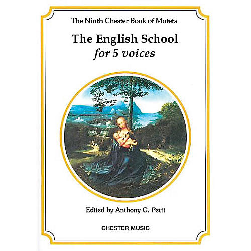 Chester Music The Chester Book of Motets - Volume 9 (The English School for 5 Voices) SSATB