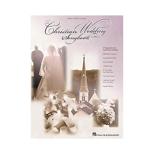 Hal Leonard The Christian Wedding Piano, Vocal, Guitar Songbook