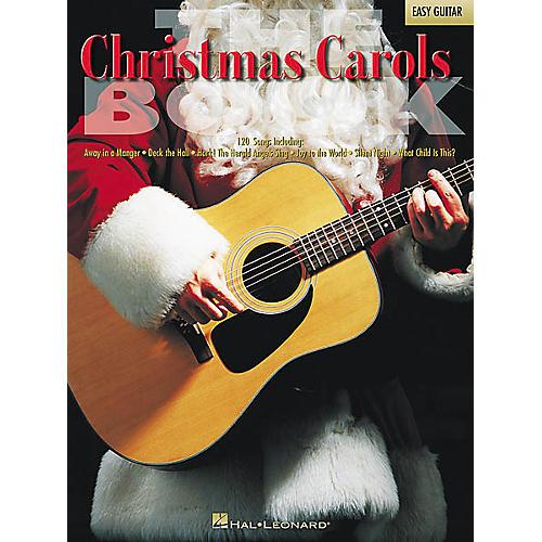 Hal Leonard The Christmas Carols Easy Guitar Tab Songbook