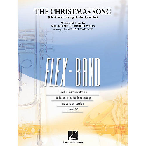 Hal Leonard The Christmas Song (Chestnuts Roasting on an Open Fire) Concert Band Level 2-3 by Michael Sweeney