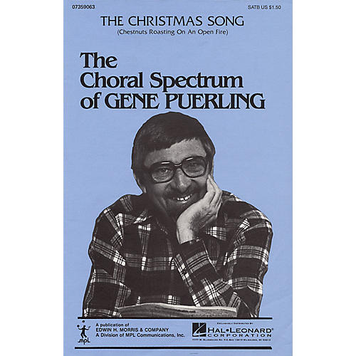 Hal Leonard The Christmas Song (Chestnuts Roasting on an Open Fire) SATB arranged by Gene Puerling