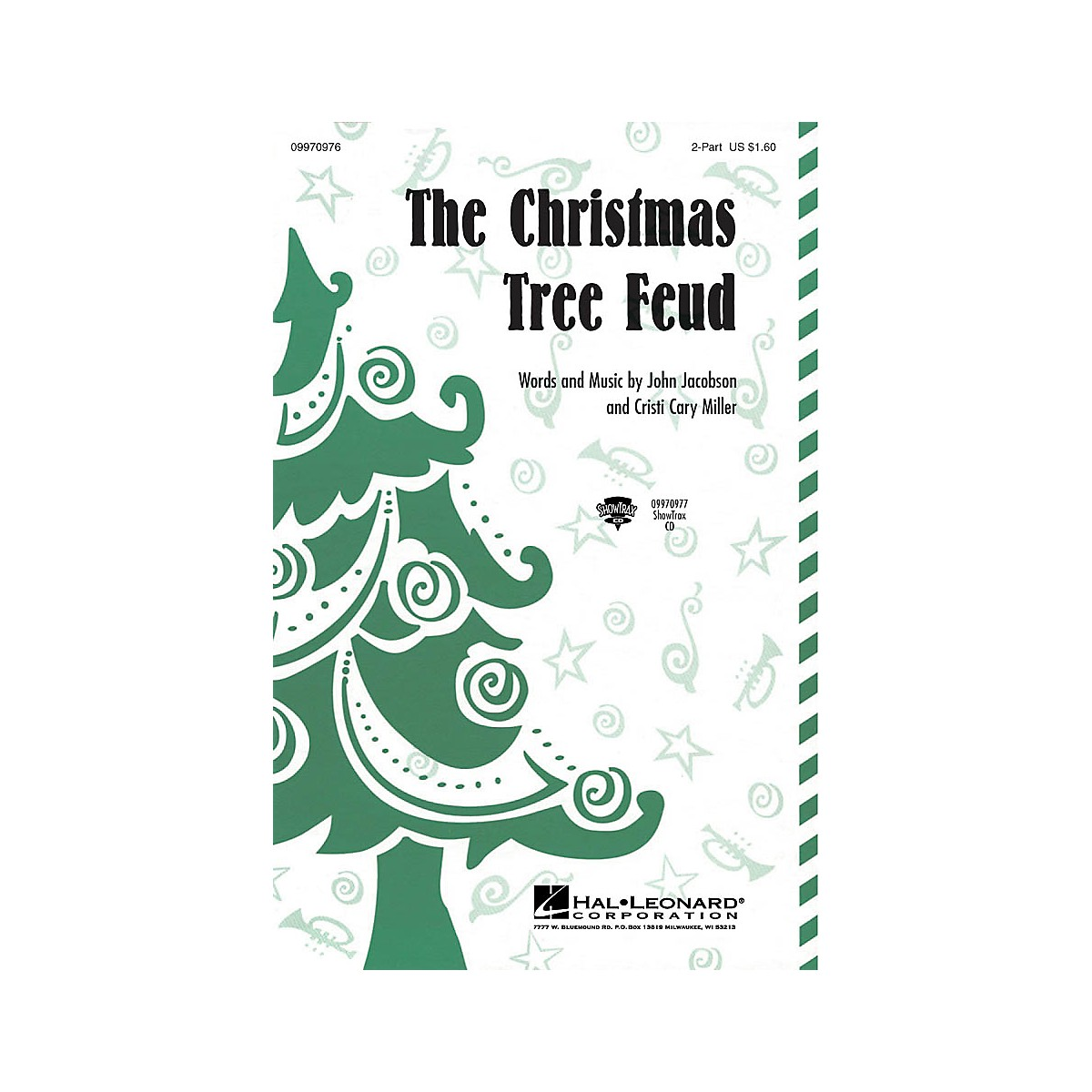 Hal Leonard The Christmas Tree Feud 2-Part Composed by John Jacobson, Cristi Cary Miller