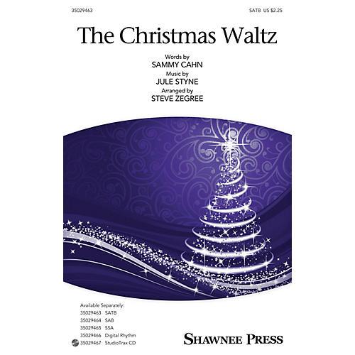 Shawnee Press The Christmas Waltz Studiotrax CD Arranged by Steve Zegree