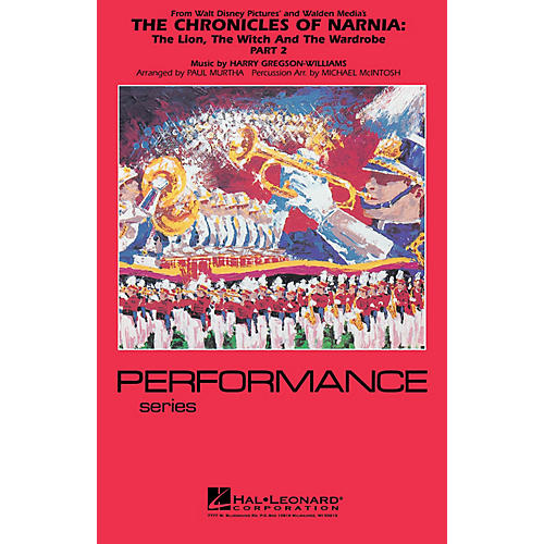 Hal Leonard The Chronicles of Narnia - Part 2 Marching Band Level 4 Arranged by Paul Murtha/Michael McIntosh