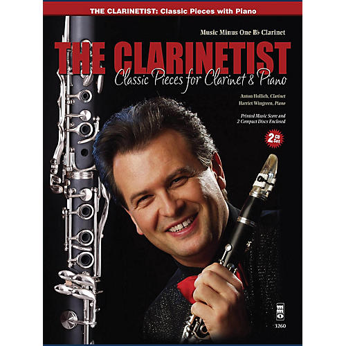 Music Minus One The Clarinetist - Classical Pieces for Clarinet and Piano Music Minus One Series BK/CD