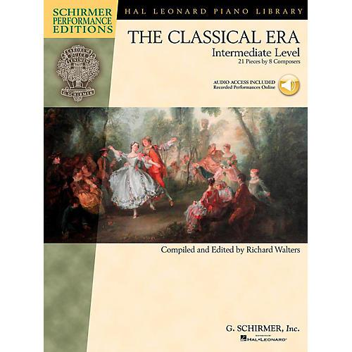 G. Schirmer The Classical Era - Intermediate Level - Schirmer Performance Editions Book Online Audio Access
