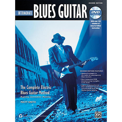 Alfred The Complete Blues Guitar Method: Intermediate Blues Guitar Book & DVD