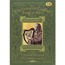 Waltons The Complete Carolan Songs & Airs Waltons Irish Music Books Series Softcover with CD by Caitriona Rowsome