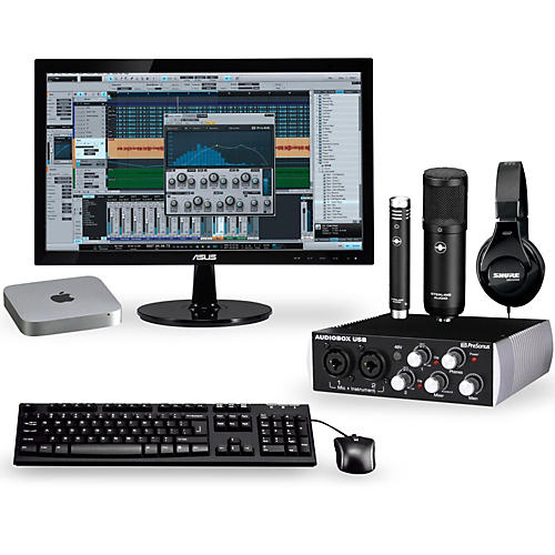 Apple The Complete Desktop Recording Studio With Mac Mini V4 Mgem2ll A