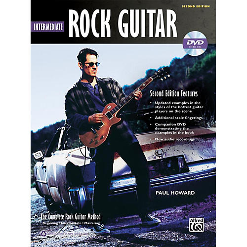 Alfred The Complete Rock Guitar Method: Intermediate Rock Guitar Book & DVD-ROM (2nd Edition)