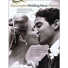 Music Sales The Complete Wedding Music Planner (Book/3-CD Pkg) arranged for piano, vocal, and guitar (P/V/G)