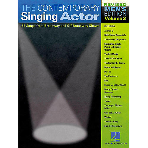 Hal Leonard The Contemporary Singing Actor - Men's Edition Volume 2