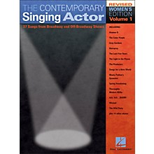 Hal Leonard The Contemporary Singing Actor - Women's Edition Volume 1