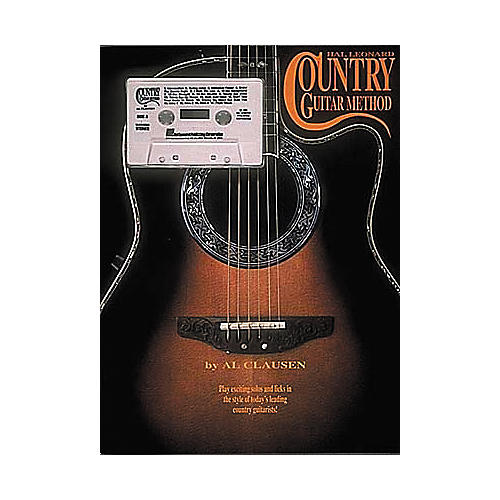 Hal Leonard The Country Guitar Method (Book/Cassette)