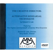 Meredith Music The Creative Director: Alternative Rehearsal Techniques (DVD) Concert Band