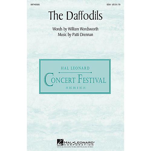 Hal Leonard The Daffodils SSA composed by Patti Drennan