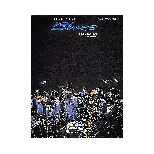 Hal Leonard The Definitive Blues Collection Songbook