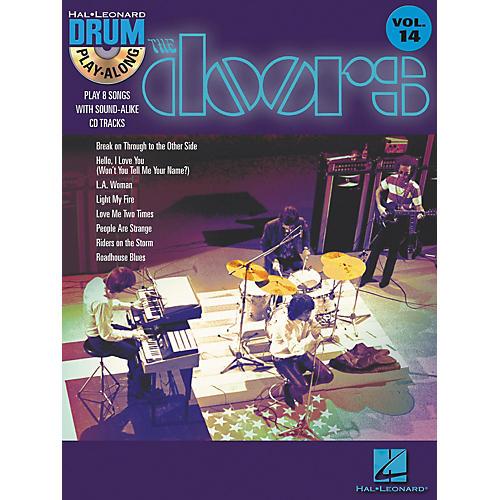 Hal Leonard The Doors - Drum Play-Along Volume 14 Book/CD Set