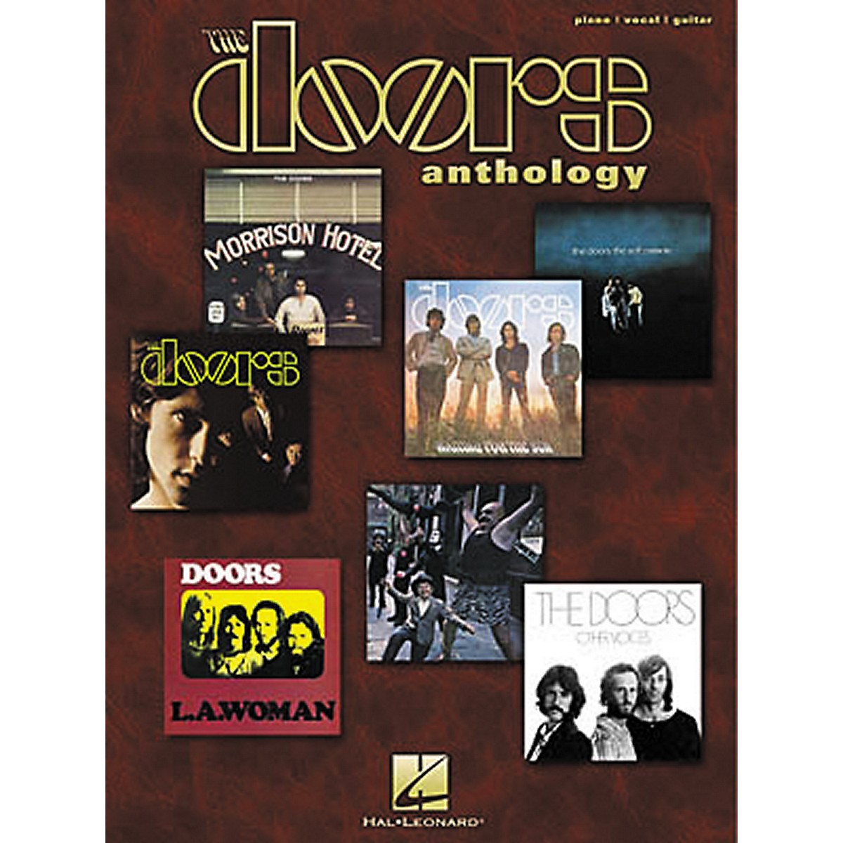 Hal Leonard The Doors Anthology Piano, Vocal, Guitar Songbook