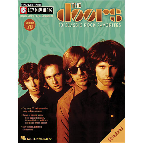 Hal Leonard The Doors Volume 70 Book/CD Jazz Play Along