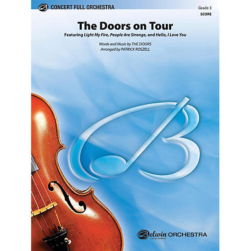 Alfred The Doors on Tour Full Orchestra Grade 3