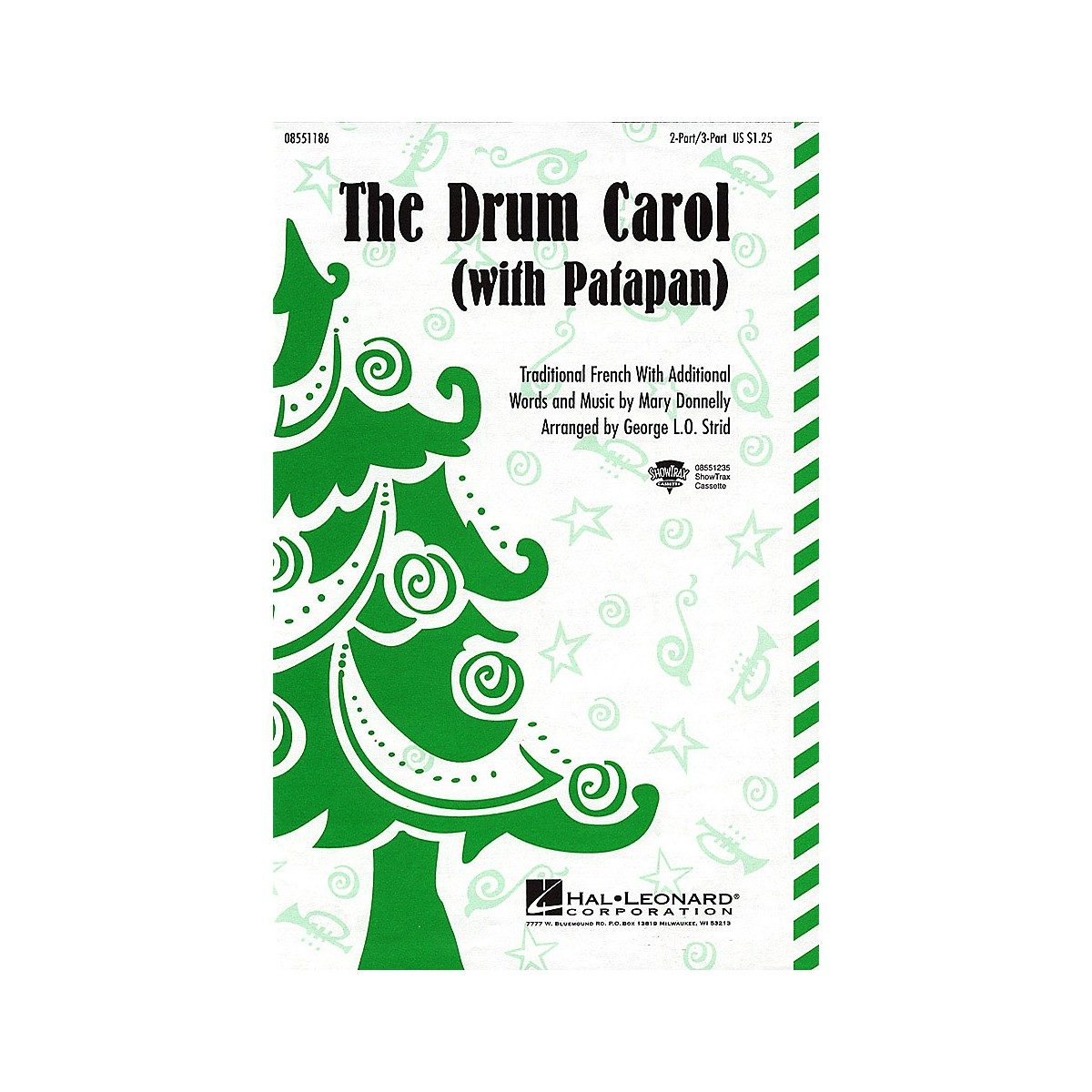 Hal Leonard The Drum Carol (with Patapan) 3-Part Mixed Arranged by George L.O. Strid
