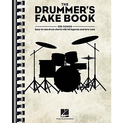 Hal Leonard The Drummer's Fake Book Drum Book