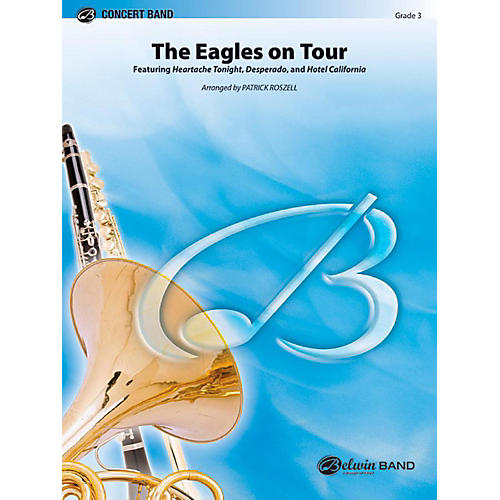 Alfred The Eagles on Tour Concert Band Level 3 Set