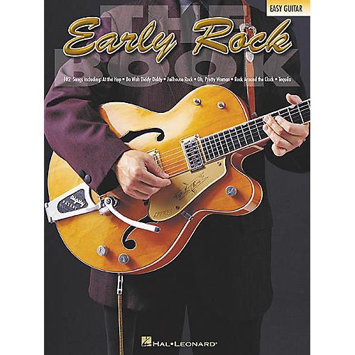 Hal Leonard The Early Rock Book - Easy Guitar Book