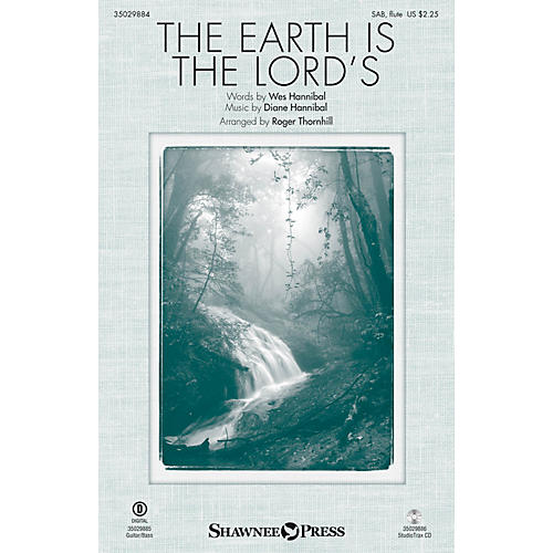 Shawnee Press The Earth Is the Lord's Studiotrax CD Arranged by Roger Thornhill