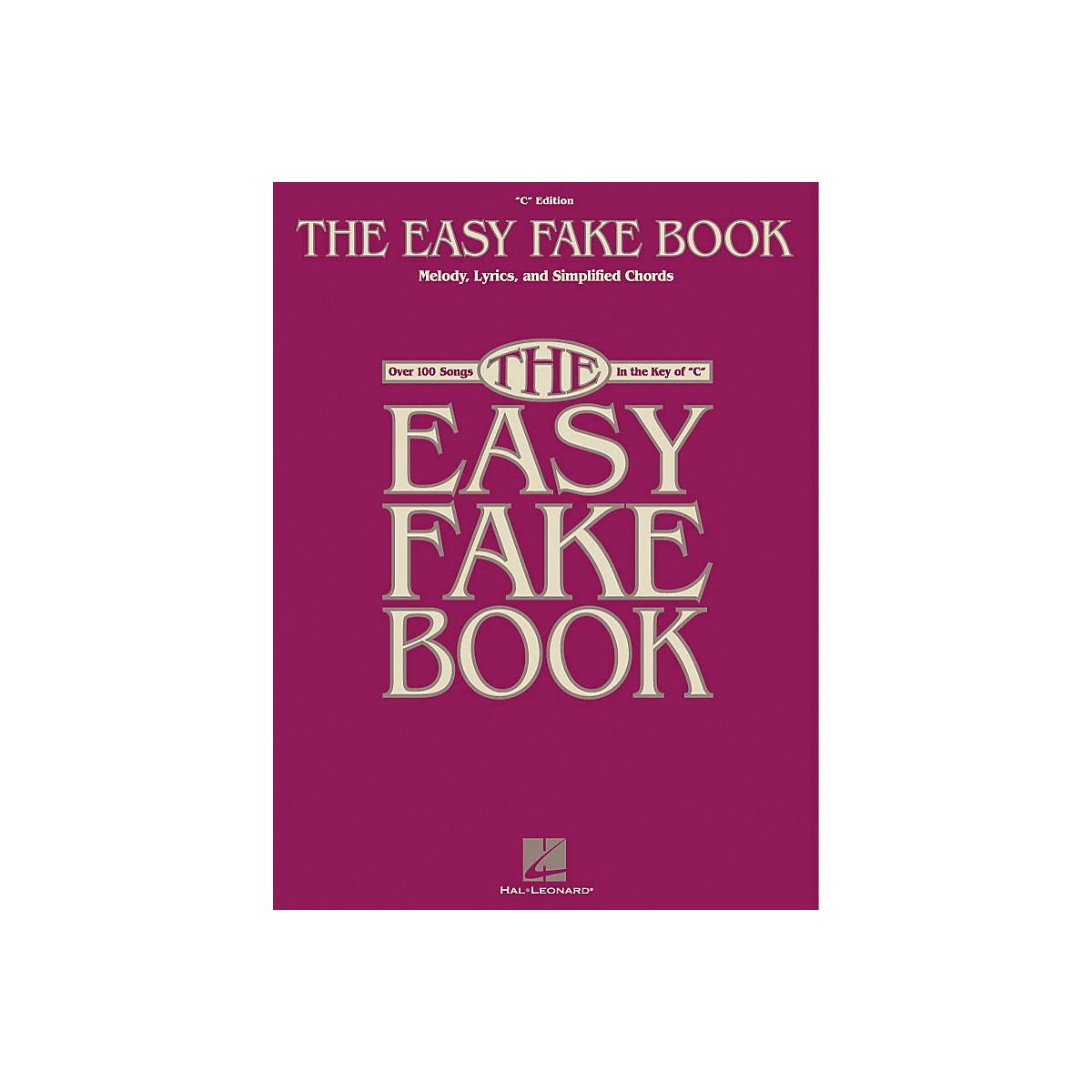 Hal Leonard The Easy Fake Book