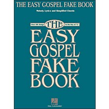 Hal Leonard The Easy Gospel Fake Book