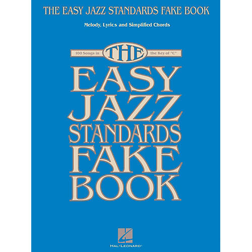 Hal Leonard The Easy Jazz Standards Fake Book - 100 Songs In The Key Of C