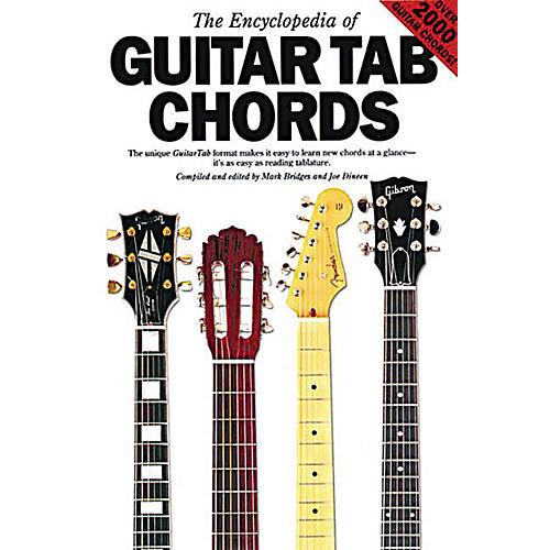 Music Sales The Encyclopedia of Guitar Tab Chords Music Sales America Series Softcover Written by Mark Bridges