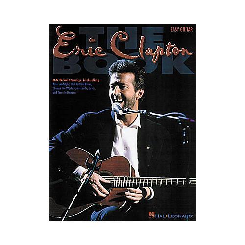 Hal Leonard The Eric Clapton Guitar Tab Book