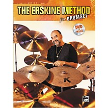 Alfred The Erskine Method for Drumset (Book/DVD)