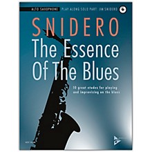 ADVANCE MUSIC The Essence of the Blues: Alto Saxophone Book & CD