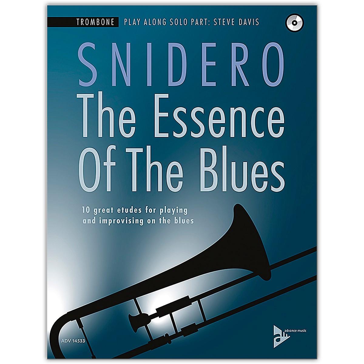 ADVANCE MUSIC The Essence of the Blues: Trombone Book & CD