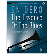 ADVANCE MUSIC The Essence of the Blues: Trombone Book & CD