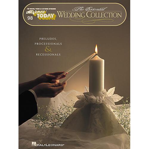 Hal Leonard The Essential Wedding Collection