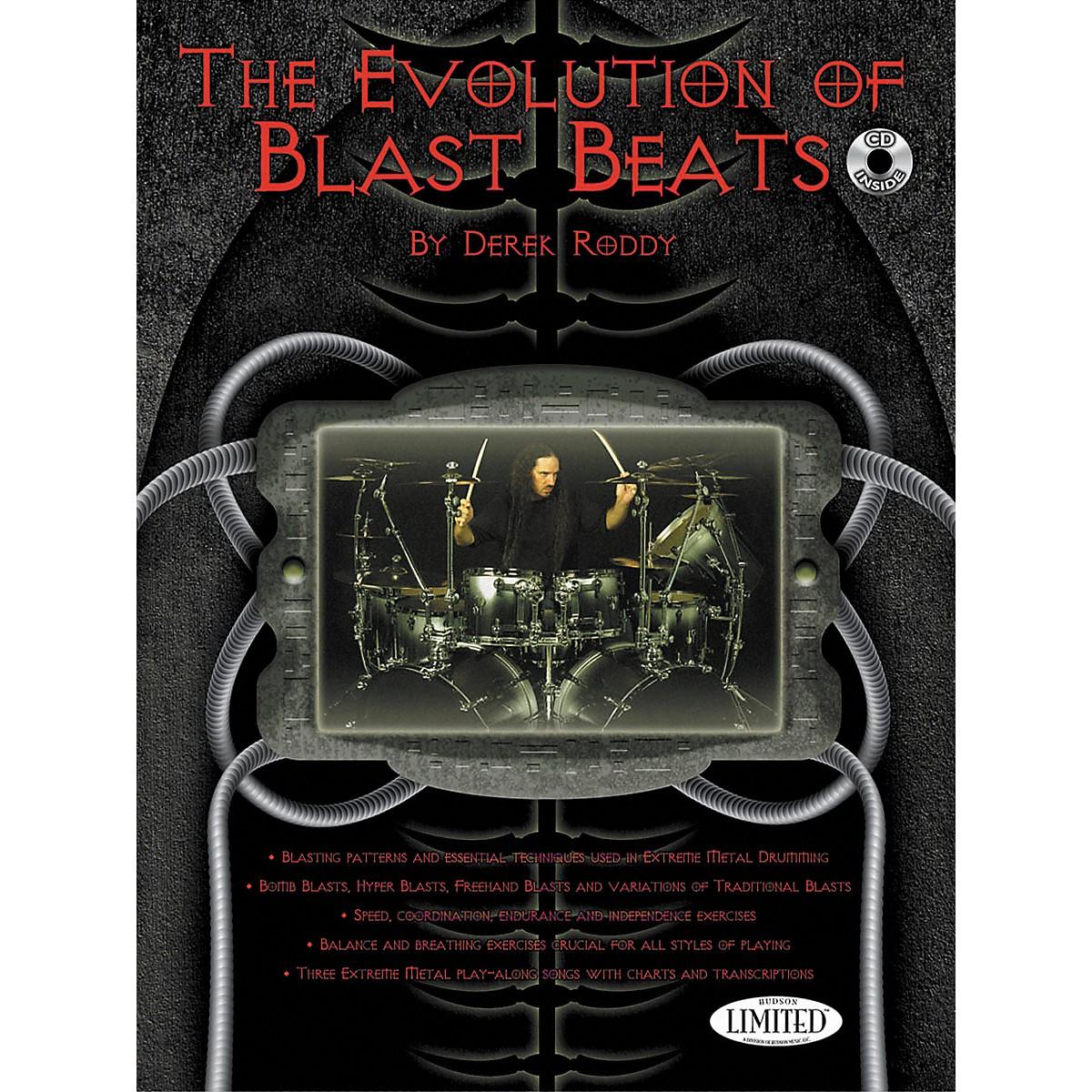 Hudson Music The Evolution Of Blast Beats By Derek Roddy (Book/CD)