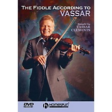 Homespun The Fiddle According to Vassar Clements DVD/Instructional/Folk Instrmt Series DVD by Vassar Clements