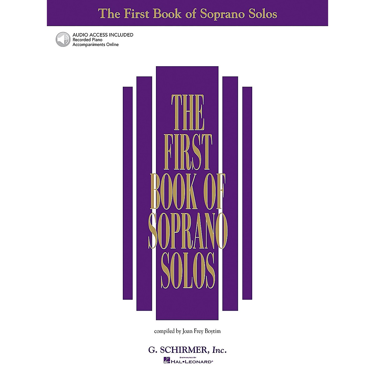 Hal Leonard The First Book/Online Audio of Soprano Solos Book/Online Audio