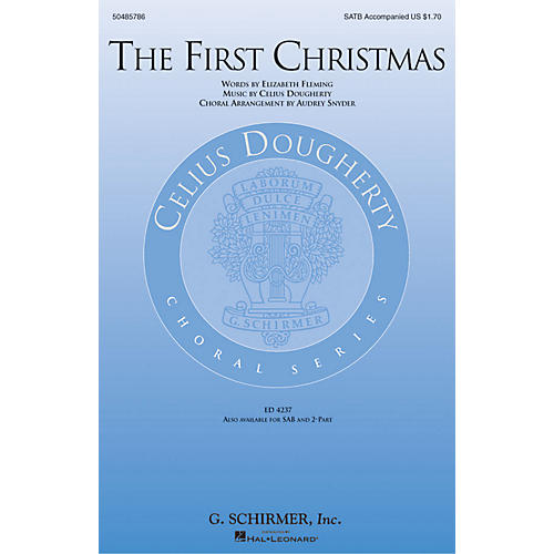 G. Schirmer The First Christmas SATB arranged by Audrey Snyder