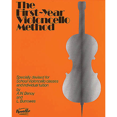 Novello The First-Year Violoncello Method Music Sales America Series Written by A.W. Benoy